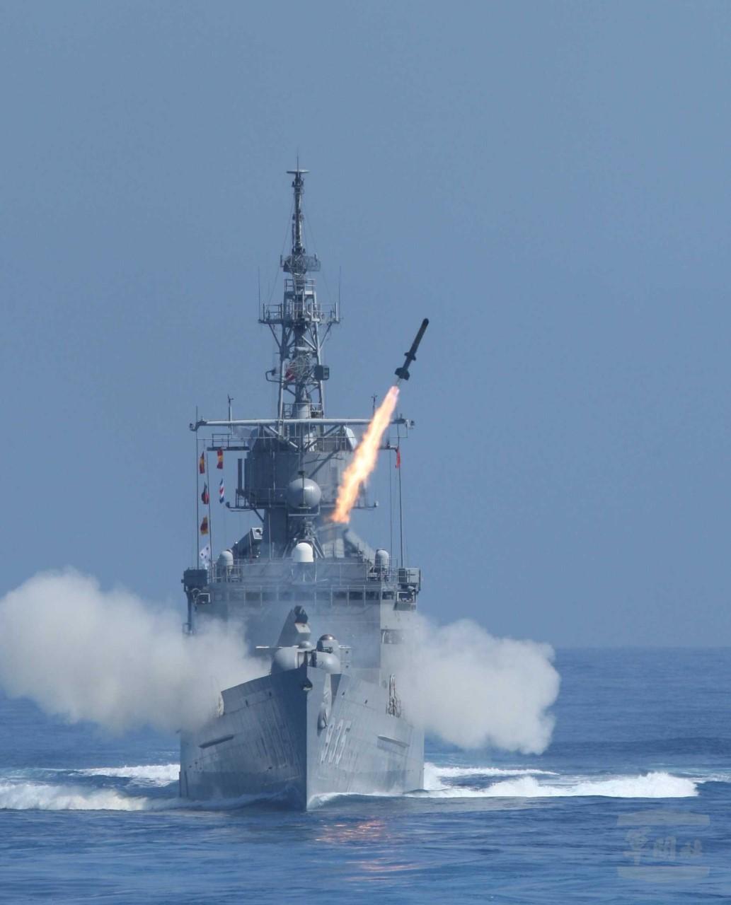 濟陽級軍艦是海軍唯一可發射ASROC(阿斯洛克)反潛火箭的軍艦