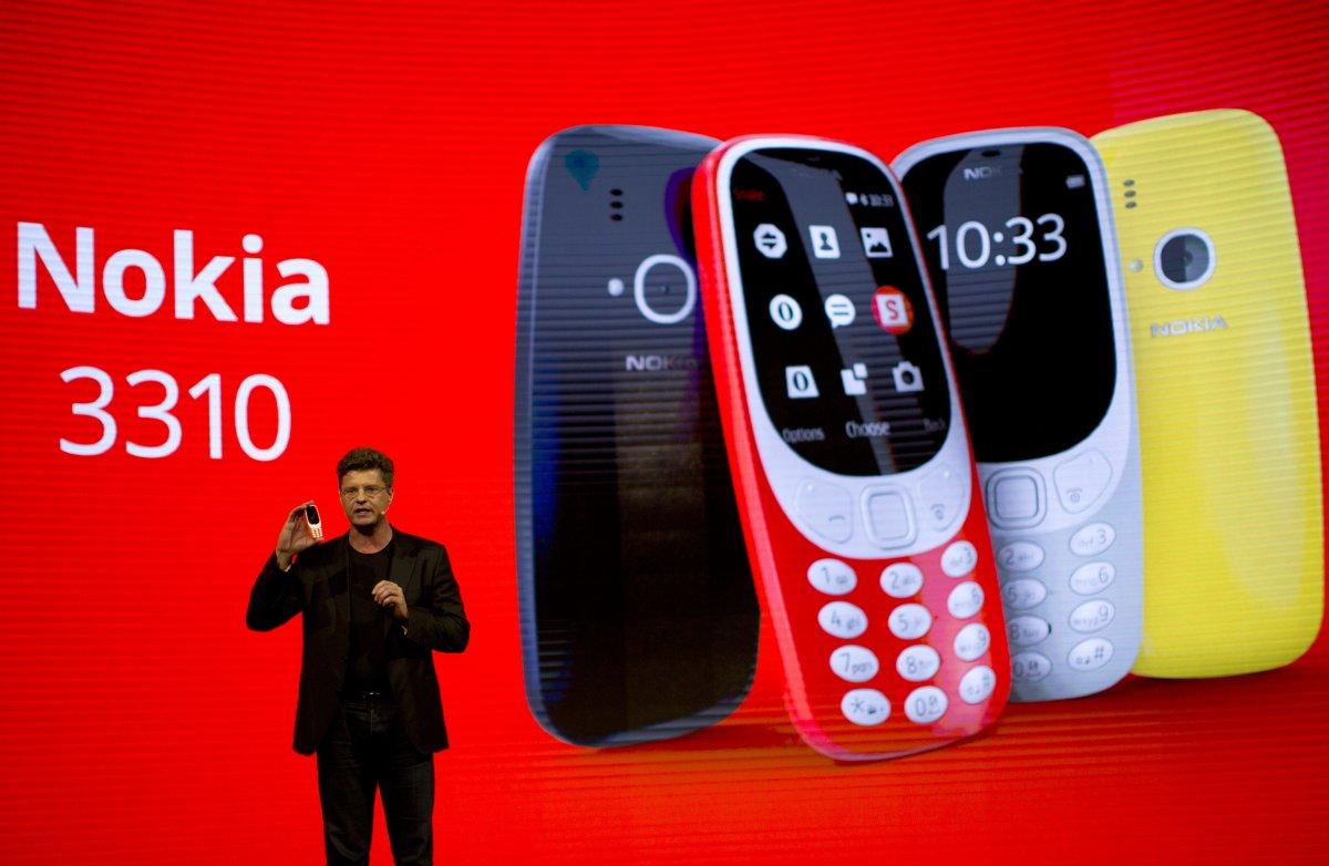 神機Nokia 3310強勢回歸!主打新興市場:待機1個月,僅支援2.5G上網