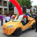 還在煩惱車貸要揹幾年嗎?你沒看錯,一台車不用一萬元,3D列印環保省油車問世!