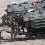 獨家》20年來首見陸戰隊澎湖搶灘登陸 「漢光33號」實兵操演5月登場