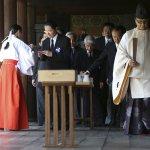 二戰結束70周年 安倍未參拜靖國神社
