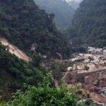 瓜地馬拉山泥傾瀉導致數百人失蹤