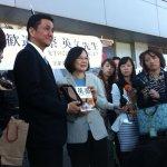岸信夫關心520服裝 蔡英文幽默回應:連台灣當紅話題都瞭若指掌