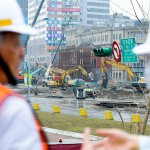 忠孝橋引橋拆除工程進度超前 13日上午8時全線開通