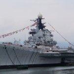前蘇聯太平洋艦隊旗艦駛入長江?明思克航母主題公園搬家啦