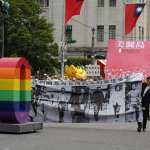 6色彩虹典禮現身 社民黨、同志熱線盼推動婚姻平權