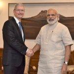 搶攻智慧型手機最後大市場 蘋果執行長庫克積極布局印度