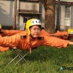 陸軍女神龍跳傘訓練誤降民宅 左大腿骨折
