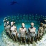 「亞特蘭提斯」重現人間,全歐洲第一間海底博物館開幕