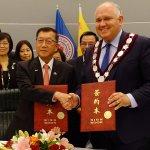 與加拿大高科技首都簽署經貿合作 智慧新竹備受肯定