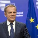 歐洲理事會主席圖斯克:歐盟27個成員國一致通過,脫歐談判準則準備好了!