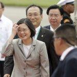 蔡英文出訪署名「台灣總統」 大陸國台辦:堅決反對台獨行徑