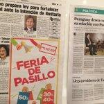 稱台灣總統   巴拉圭媒體大幅報導蔡英文到訪