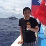 東港漁船欲登太平島卻載陸媒記者 活動單位發聲明指遭抹紅