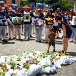 播放屠宰場裡動物的叫喊 紐約動物權紀念日推動「純素30天」