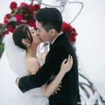 「我會盡這辈子最大的努力去守住這份幸福。」陳妍希、陳曉婚禮甜蜜誓言