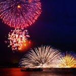 日本燦爛一夏,五大水上花火的夢幻光景!