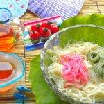 日本人夏天必吃的消暑美食,竹子流水加上碎冰沾醬,清爽好吃又好玩