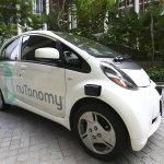 超越Google、打敗Uber》全世界第一部無人計程車「nuTonomy」 新加坡上路載客