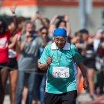 百米90秒完賽 印度百歲人瑞贏得全場歡呼