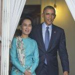 美國總統歐巴馬正式宣佈 解除對緬甸經濟制裁