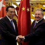 56年來第一人   中國總理李克強訪問古巴