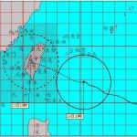 不斷更新》梅姬颱風來襲 北北基等縣市明天停班停課