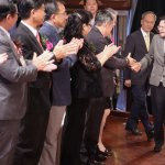 期許台商拓展對外關係,蔡英文:此刻的台灣,需要各位的一臂之力