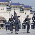 雙十國慶即將到來 三軍聯合樂儀隊自由廣場公開預演