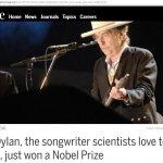 劉任昌觀點:「科學家」未曾對諾貝爾「文學獎」反應得如此熱烈