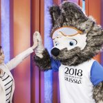 戰鬥民族2018世界盃 西伯利亞平原狼「扎比瓦卡」當選吉祥物