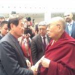 陳唐山任小英特使出席公元2000論壇 捷克會見達賴喇嘛