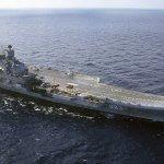 俄羅斯唯一航空母艦「庫茲涅佐夫號」 首度展開敘利亞作戰任務