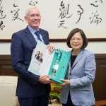 AIT主席莫健訪台:美豬議題將考驗台灣加入TPP決心