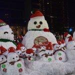 用發票做成2公尺高的雪人 耶誕節不能錯過的好去處就是這裡!