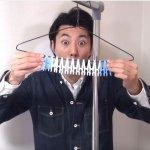 94狂!兩分鐘學會衣架9大實用改造術,居然連牙刷架都行,好想趕快做一個!
