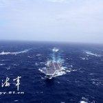 遼寧號從中國沿海向北航行 國防部:持續全程監偵