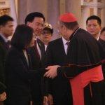 英捷專案》蔡英文參觀宏都拉斯宏京大教堂 接受主教祝禱
