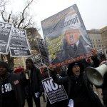 美國準總統川普就職在即 抗議活動與日俱增