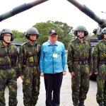 重溫國軍生活,柯文哲不忘推廣世大運