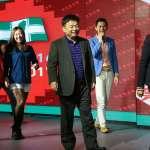 民進黨尾牙》蔡英文捐3萬元紅包,林錫耀上台熱舞