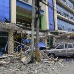 菲律賓深夜強震民眾奔逃  有感餘震近百次 6死126傷