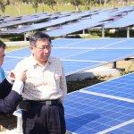 台北能源之丘完工 柯文哲:北市出地、私人出資,合力推動綠色能源