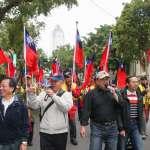 「800壯士」繞立院反年金改革,吳斯懷:政府不能說我們是米蟲