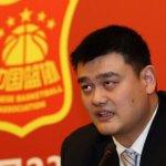 NBA退休球星姚明當選中國籃協主席