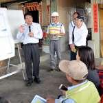 視察「政治良心」工程 潘孟安;污水下水道建設是現代化城市的表徵