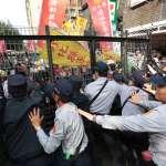 民警爆推擠衝突!吳斯懷:立院外警察,未來也將被指為「不公不義領年金」
