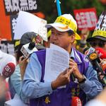 反年改竟問群眾「蔡英文該不該殺」!民進黨譴責藍議員林國春