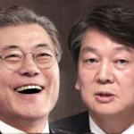 南韓總統大選雙雄爭霸》安哲秀支持率大幅下滑 文在寅甩開對手獨走