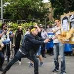 學生聲援大觀社區反拆遷戶,政院前抗爭望能擋下第二波拆遷